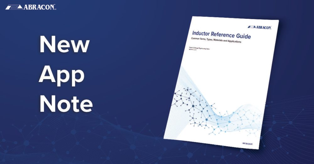 New App Note Inductor Reference Guide