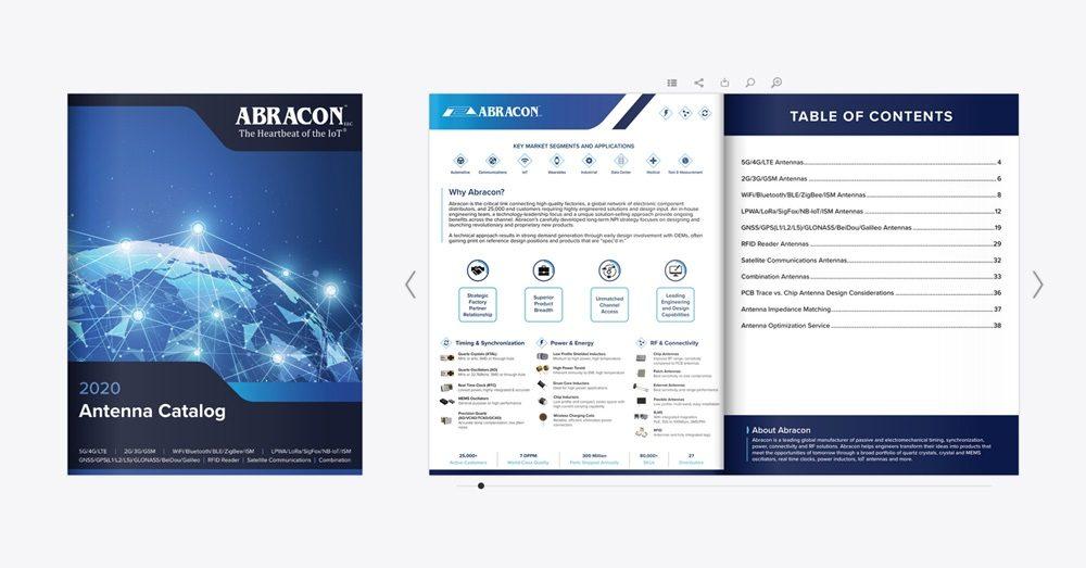 Abracon Interactive Antenna Catalog 2020 News Image