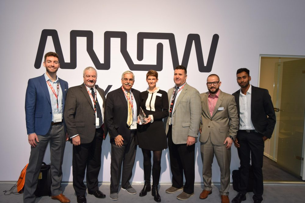 Arrow Largest Distributor Award Front