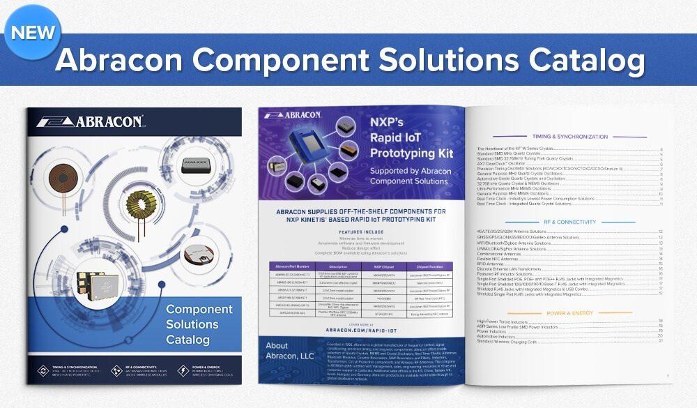 Abracon New Catalog Press Release