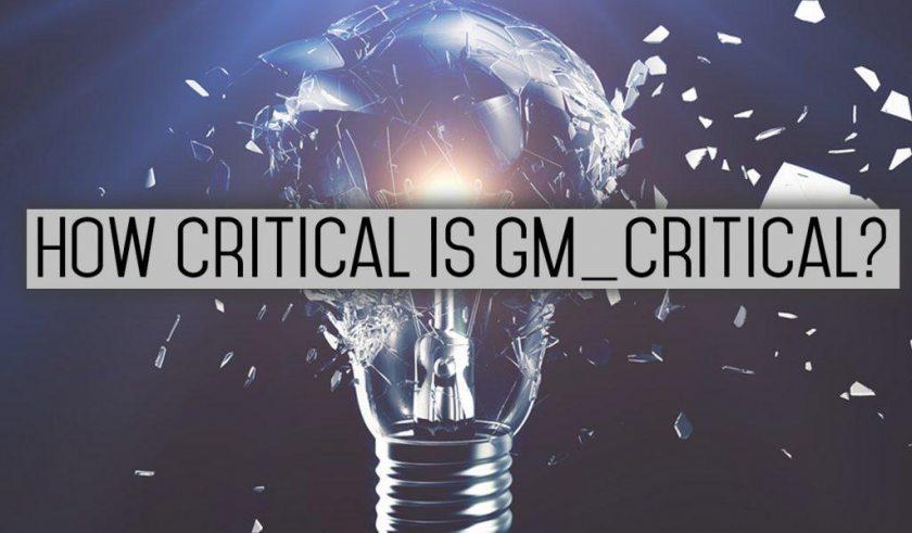 Gm Critical