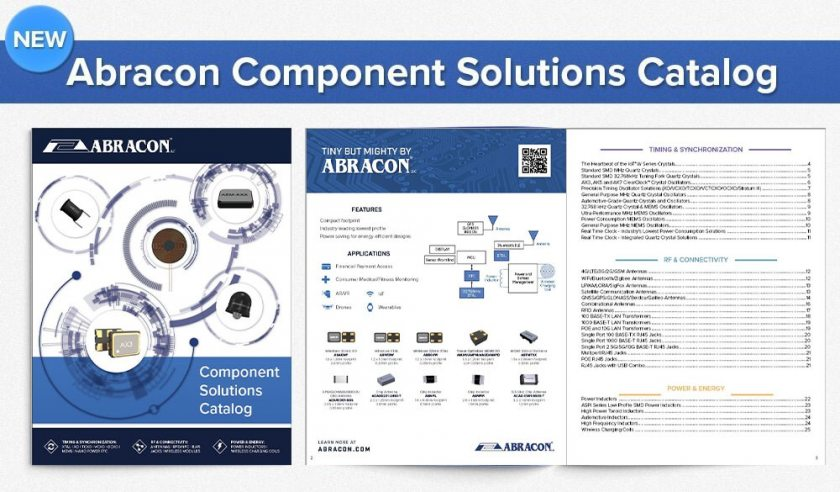 Abracon New Catalog Press Release Q3 2019