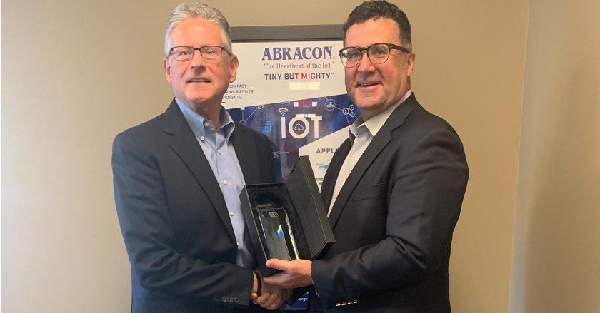 Mike White Presenting 2019 Sales Pinnacle To Taarcom