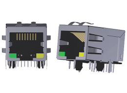 Rj45 Jacks With Magnetics